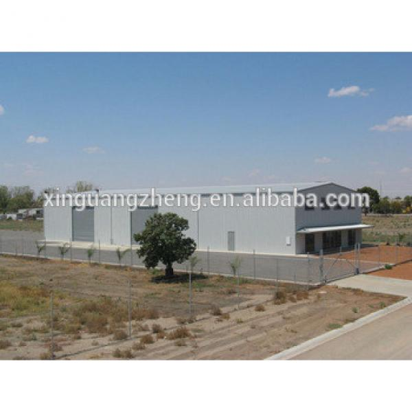 prefab steel structure small hangar, finished warehouses #1 image