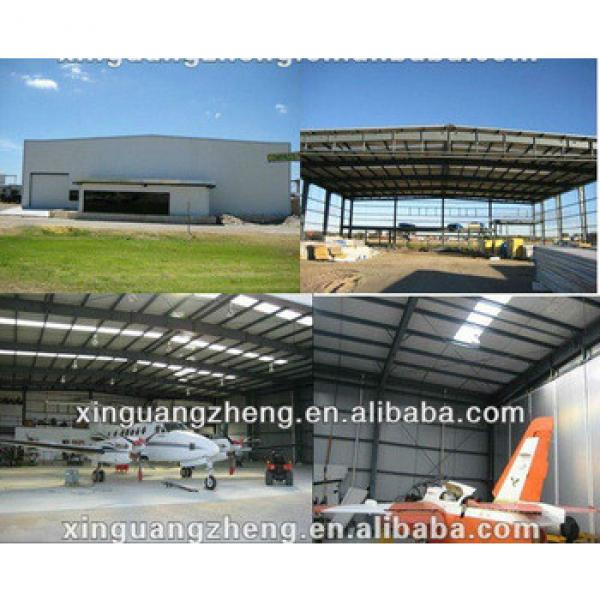 light steel structure aircraft hangar with strong seismic and wind resistance #1 image