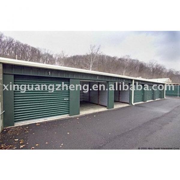 prefab steel hangar prefabricated light steel garage design #1 image