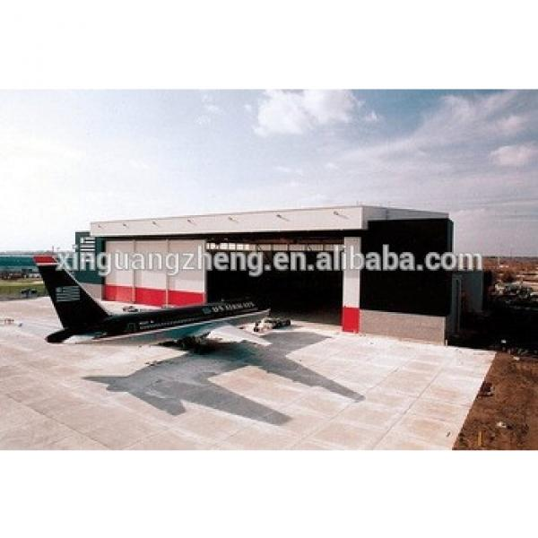 steel structure hangar tent moudle cheap aircraft hangar stock #1 image
