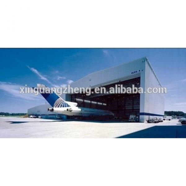 govemental best quality prefabricated steel structure hangar project #1 image