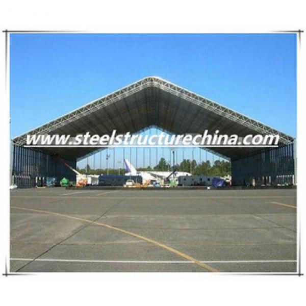 Large span steel structure aircraft hangar and shed #1 image