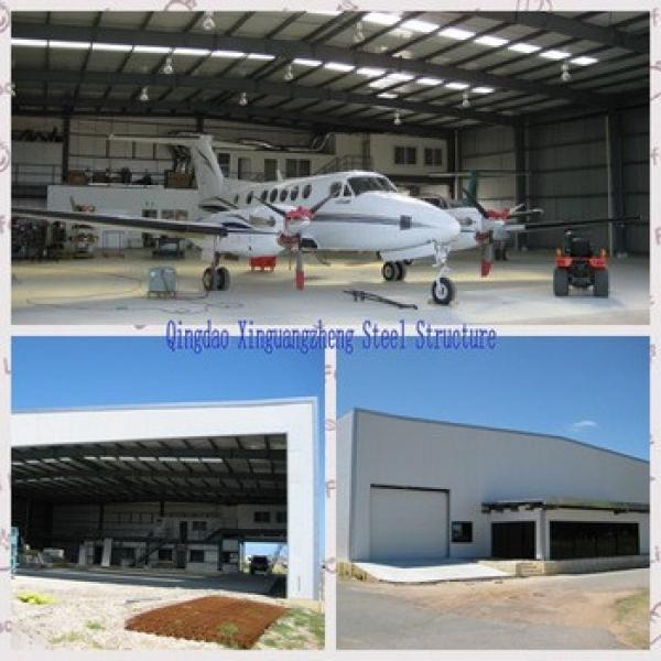 ISO 9001 Steel structure aircraft Hangar #1 image