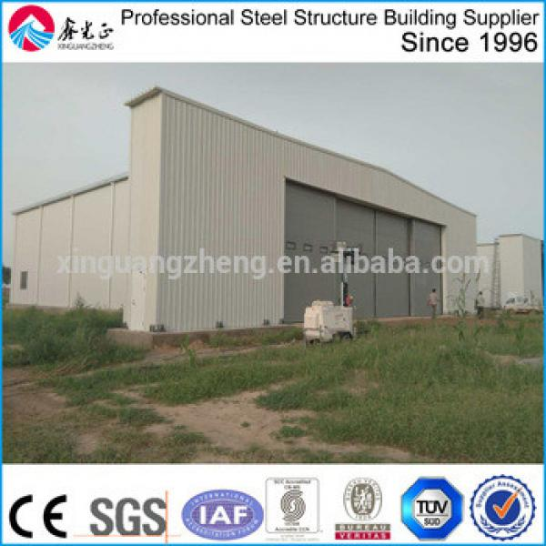 prefabricated steel hangar project #1 image
