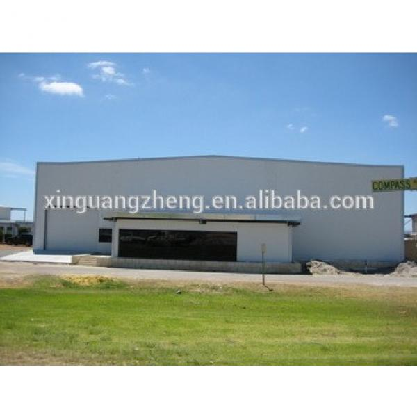 steel structure portable aircraft hangar #1 image