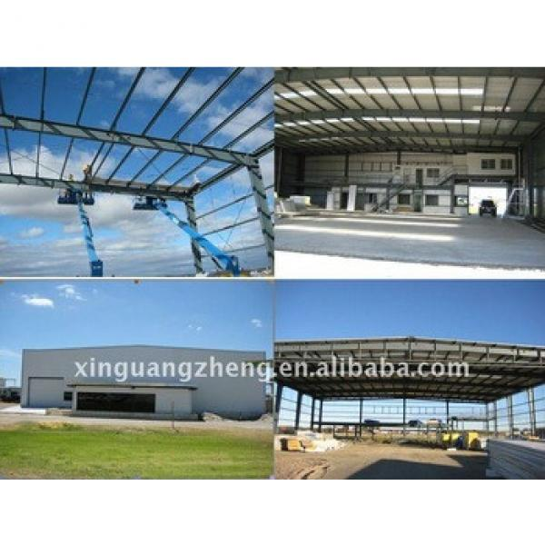 Prefabricated metal frame aircraft Hangar #1 image