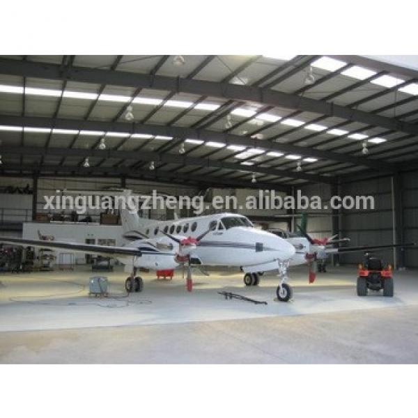 Steel Structure aircraft hangar design #1 image