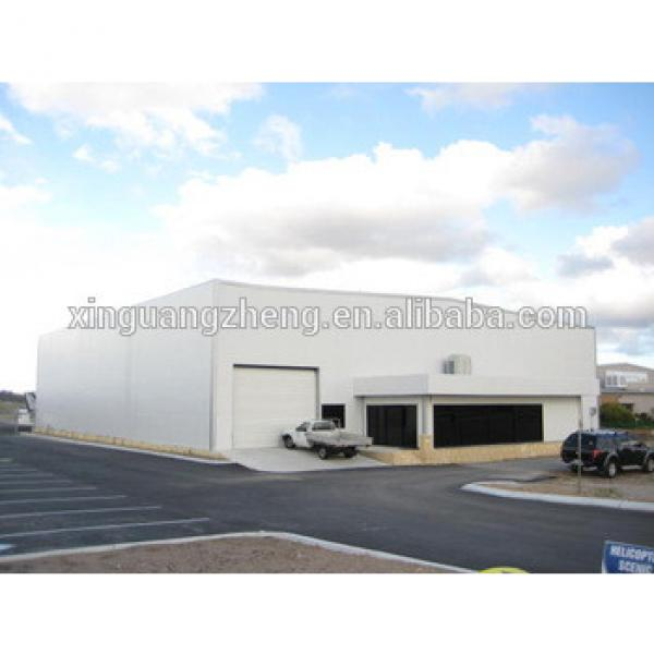 airport building prefabricated steel structure aircraft hangar #1 image