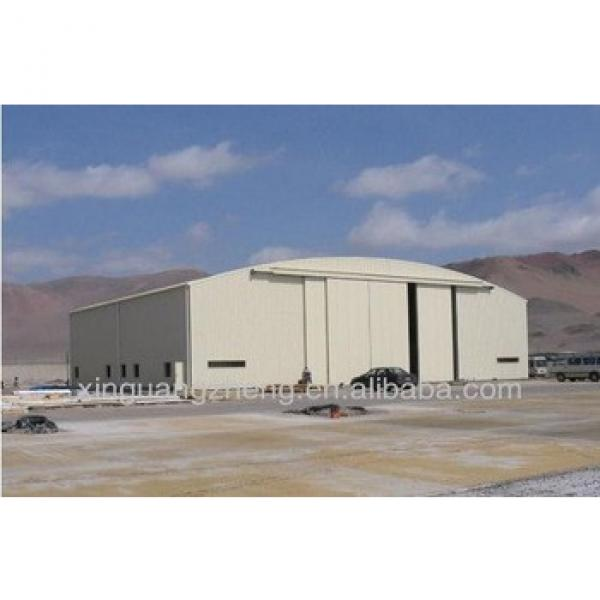 steel structure for airport building/prefabricated hangar/aircraft hangars #1 image