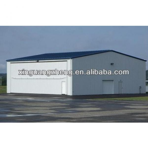 Light steel arch roof steel structure hangar #1 image