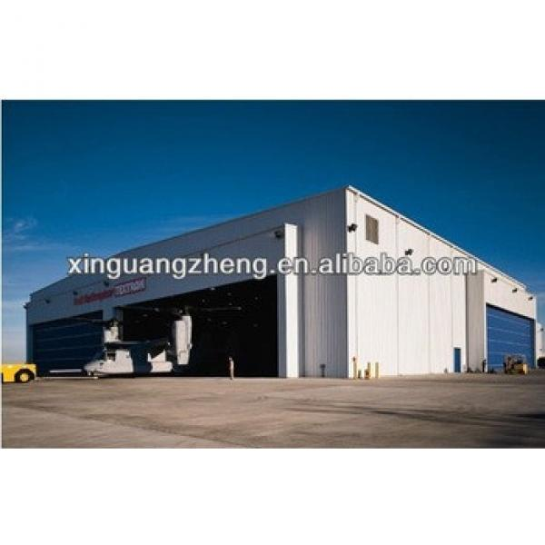 2014 Professinal manufacture prefabricated aircraft hangar #1 image