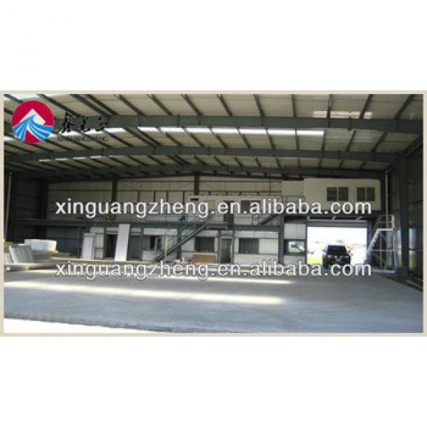 steel manufactures prefabricated metal hangar building in China #1 image