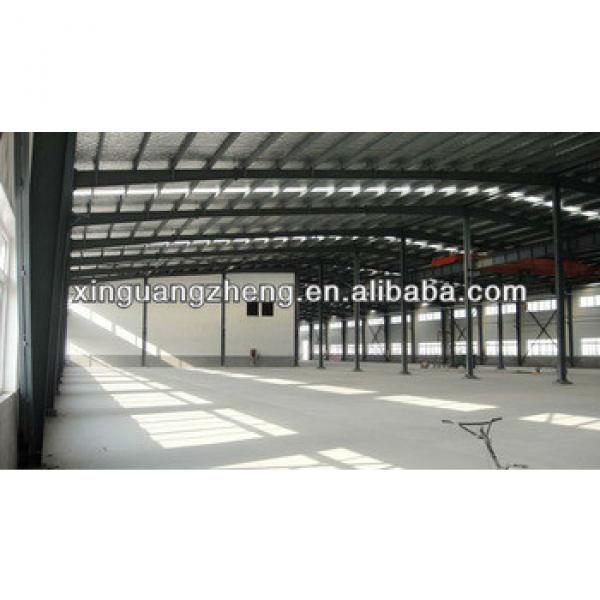 steel structure manufactures prefabricated metal hangar building in China #1 image