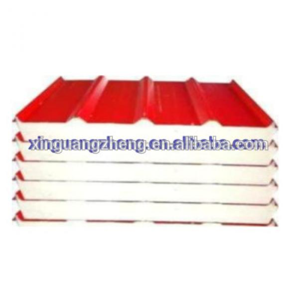 Lower price EPS insulated sanwich roof panels #1 image