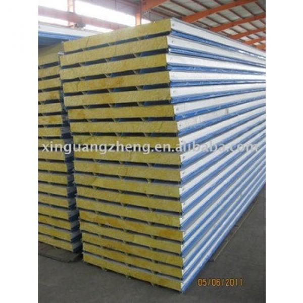 prefabricated Fibreglass 950 sandwich panel #1 image