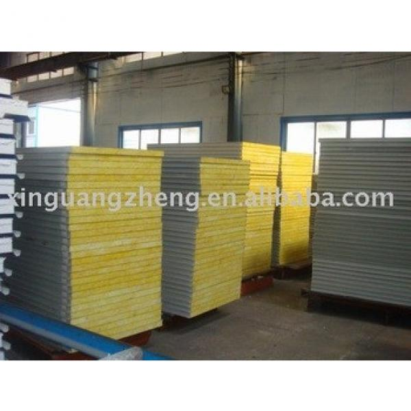 EPS fiberglass wool rock wool sandwich composite panels #1 image