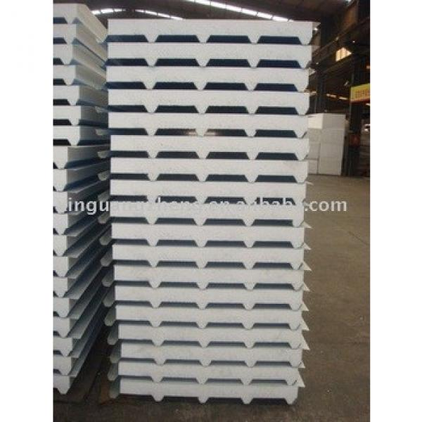 EPS fiberglass wool rock wool sandwich panels #1 image