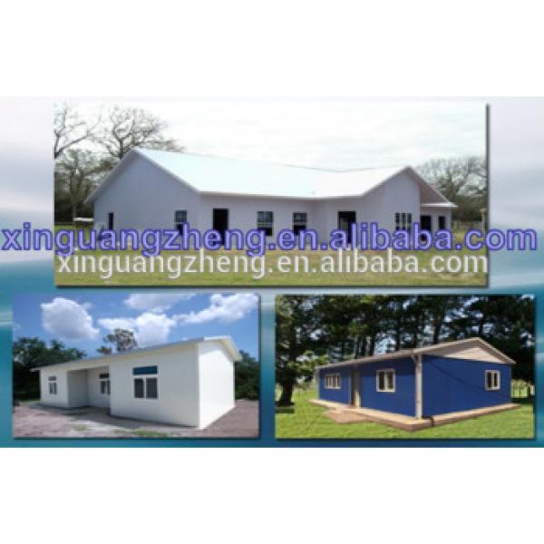 Economic villa modular house prefab,ALC prefabricated house cheap prefab steel structure house #1 image