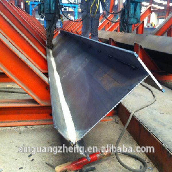 Prefabricated customized project H steel parts #1 image