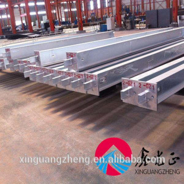 Prefabricated warehouse galvanized H section steel #1 image