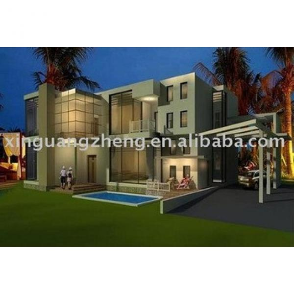 prefabricated light steel houses and villas #1 image