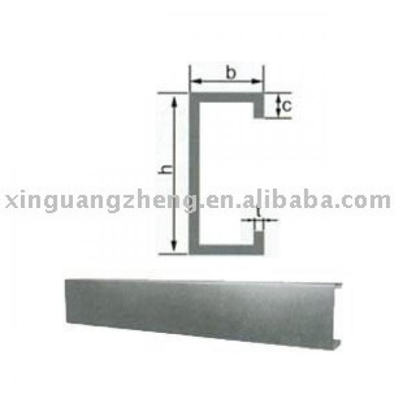 galvanized roofing C section purlin #1 image