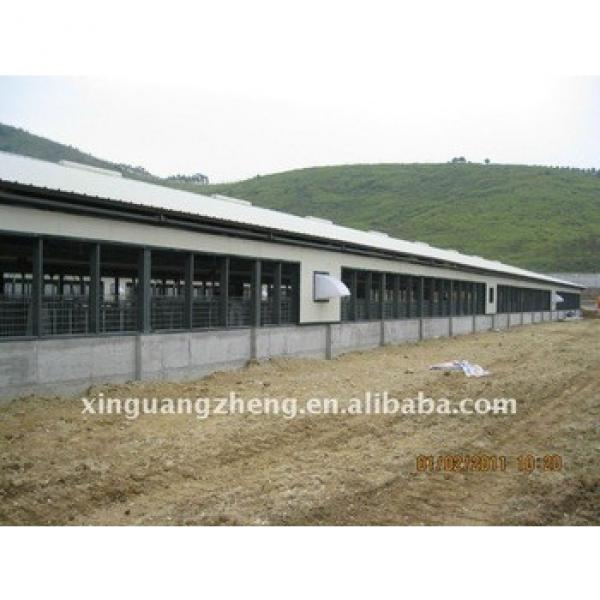 light steel structure prefabricated pig shed #1 image