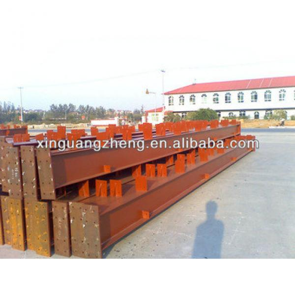 structural steel construction materials welded H beam #1 image