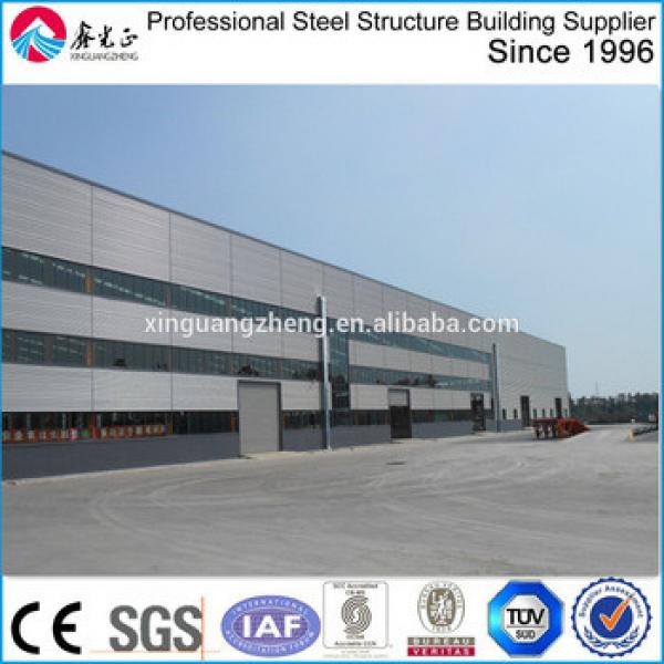 famous metal prefab steel structure cooling warehouse building/steel processing workshop building #1 image