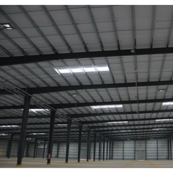 Prefabricated metal structure steel building/steel warehouse high quality with cheap price #1 image