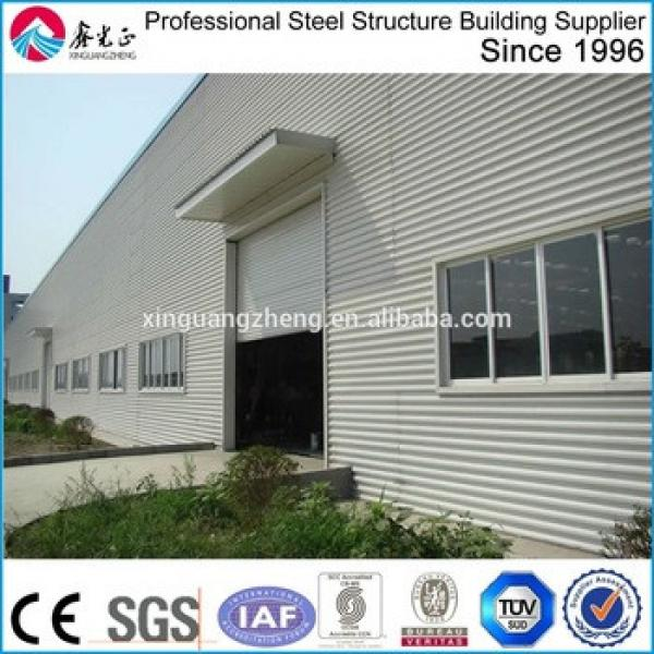 China leading steel structure factory build prefab steel structure warehouse building #1 image