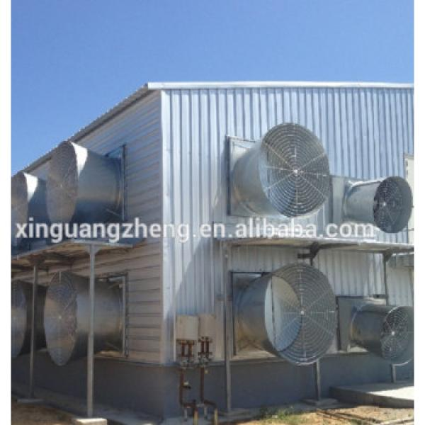 chicken house hen building for broiler supplier with full equipment #1 image