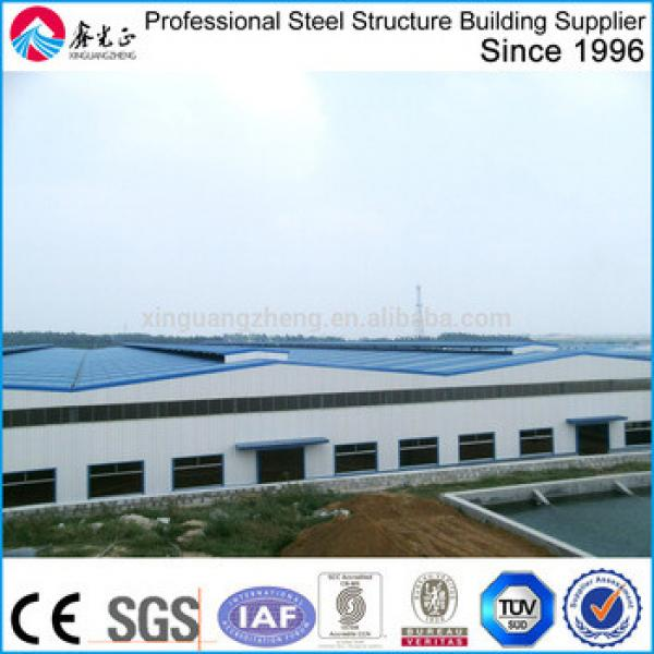 professional long-span steel structural buildings fabrication #1 image