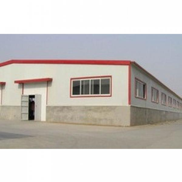 steel iron sheet structure house/steel structure building construction #1 image