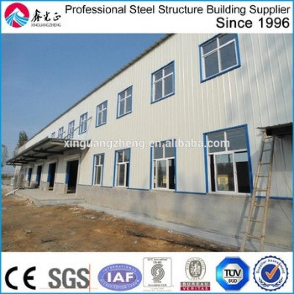 steel structure two story building/steel structure hotel building fabrication company in China #1 image