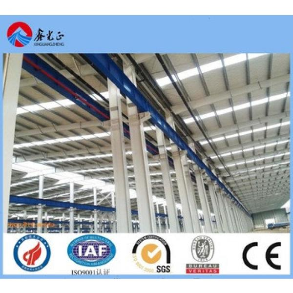 low cost factory workshop steel building manufacturer in china export steel construction factory building #1 image