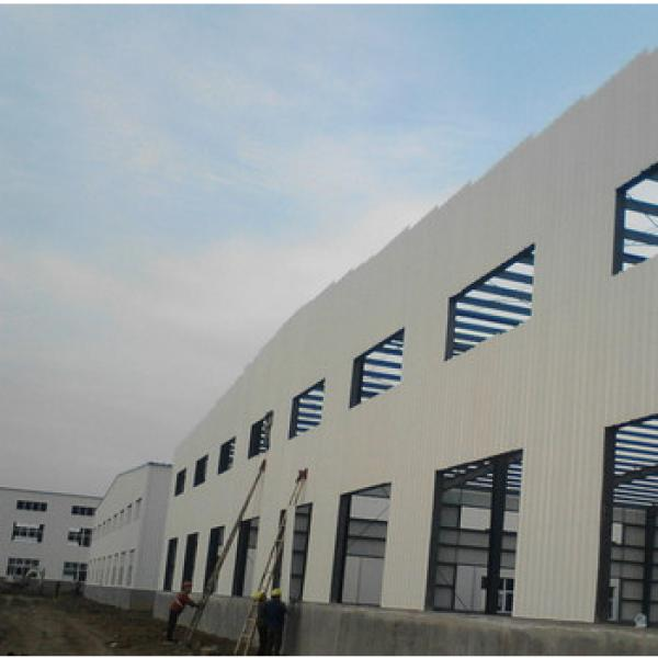 three stores steel structure building manufacturer design steel structure building/three floor structual steel warehouse #1 image
