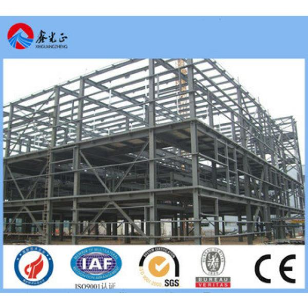 two store steel structure warehouse manufacturer design steel structure building/two floor structual steel warehouse #1 image