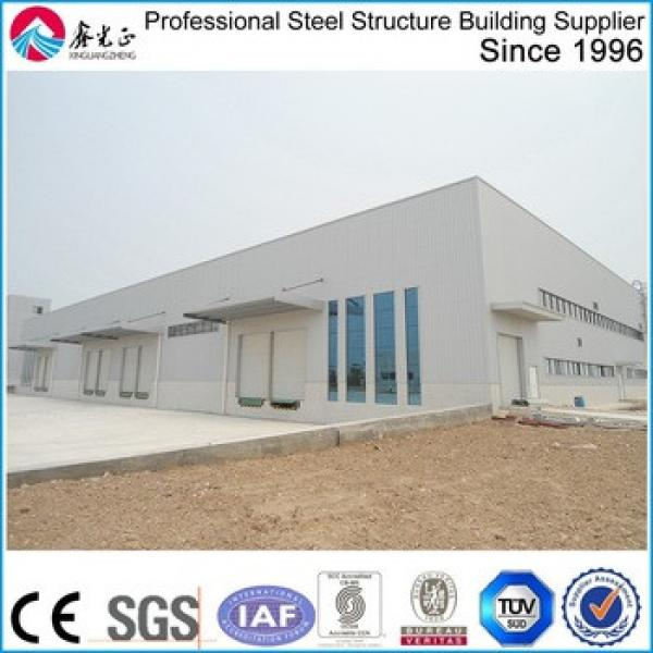 famous prefab nice steel structure warehouse in Africa #1 image