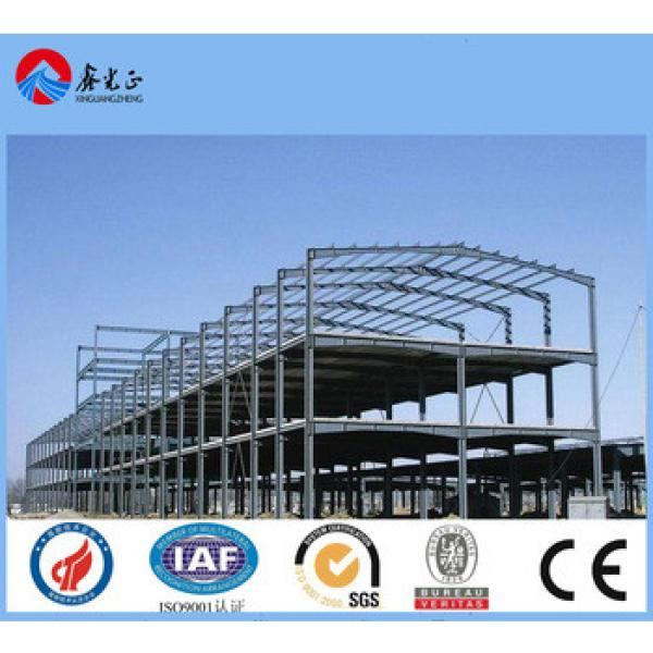 export to Afria two floors steel building manufacturer design steel structure buidling/warehouse fabrication in 50 countries #1 image