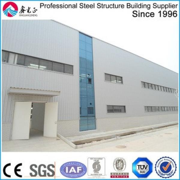 Prefabricated steel structure building manufacturer design steel structure buidling/install steel structure warehouse in china #1 image