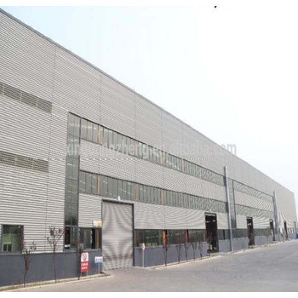 prefab steel structure building/steel structure house build in china steel structure Group including design/installation #1 image
