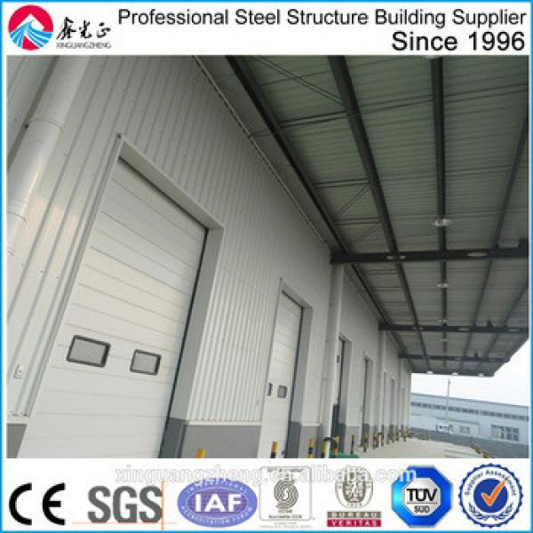 Exported in Africa steel structure warehouse building in steel structure workshop china #1 image