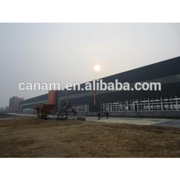 High quality steel beam and column industrial plant #1 image
