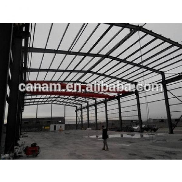low cost high light steel structure warehouse #1 image