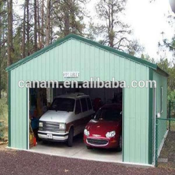 Prefabricated steel garage with CE certification #1 image