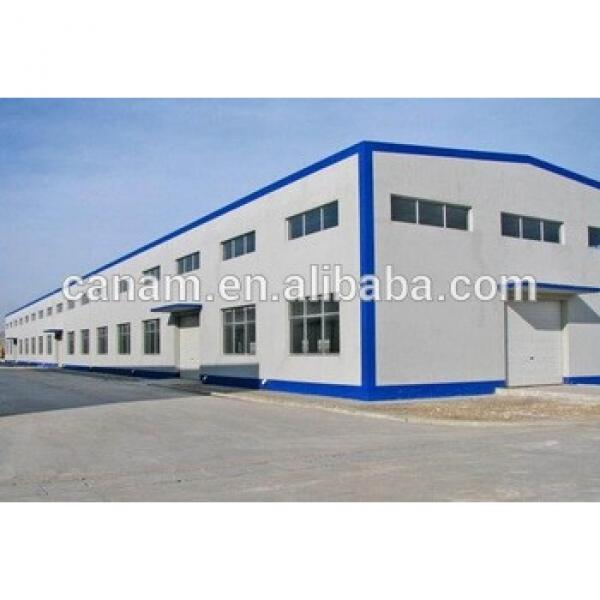 customized prefab steel structure warehouse #1 image