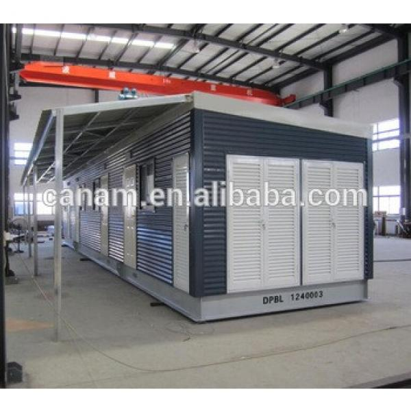 cheap china flat pack prefab house #1 image