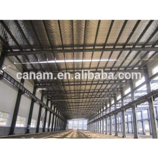 Low cost high quality steel structure warehouse #1 image
