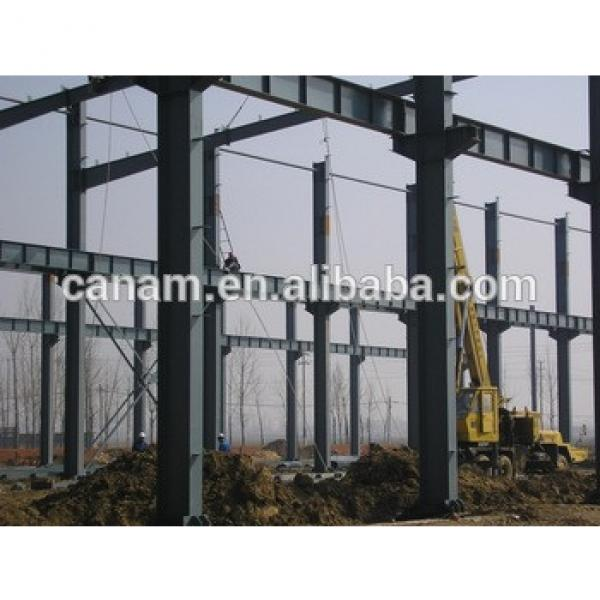 construction design steel structure warehouse steel frame warehouse #1 image